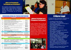 Triptico Presupuesto participativo 2