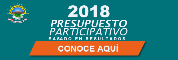 PRESPUESTO PARTICIPATIVO 2018