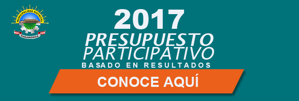 PRESPUESTO PARTICIPATIVO 2017