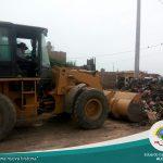 Alcalde del distrito Eduardo García Pagador está trabajando por una ciudad limpia y saludable.