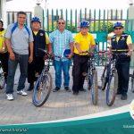 Iniciamos el patrullaje en bicicletas