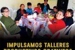 IMPULSAMOS TALLERES PRODUCTIVOS GRATUITOS