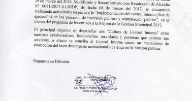 IMPLEMENTACIÓN DEL SISTEMA DE CONTROL INTERNO