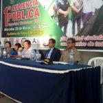 MUNICIPALIDAD DE PARAMONGA REALIZO PRIMERA AUDIENCIA PÚBLICA DE SEGURIDAD CIUDADANA