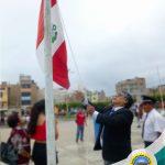 Eduardo García Pagador realiza el primer izamiento de bandera como Alcalde del periodo 2019 -2022