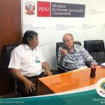 REUNION EN EL MINISTERIO DE TRABAJO