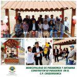 MUNICIPALIDAD DE PARAMONGA Y ANTAMINA CONSTRUYEN 02 PARADEROS EN EL C.P. CHIQUIAHUANCA 👏 👏 👏