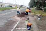 MANTENIMIENTO DE PISTAS EN PRINCIPALES ZONAS DEL DISTRITO