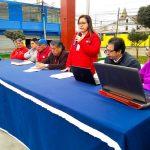 VECINOS RECIBEN CHARLA A CARGO DEL MINISTERIO DE VIVIENDA, CONSTRUCCIÓN Y SANEAMIENTO