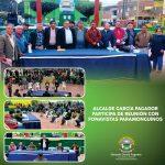 ALCALDE GARCÍA PAGADOR PARTICIPA DE REUNIÓN CON FONAVISTAS PARAMONGUINOS