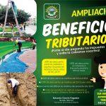 SE AMPLIÓ EL BENEFICIO TRIBUTARIO