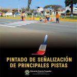 PINTADO DE SEÑALIZACIÓN DE PRINCIPALES PISTAS