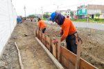 CONSTRUCCIÓN DE BERMAS Y ÁREAS VERDES EN LA AV. MIGUEL GRAU