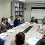 REUNIÓN CON EL GOBIERNO REGIONAL PARA CONOCER EL CASO DE LOS EXPEDIENTES TÉCNICOS PRESENTADOS