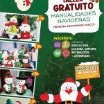 TALLER GRATUITO DE MANUALIDADES NAVIDEÑAS