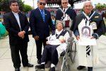 HERMANDAD SAN MARTÍN DE PORRES RECONOCE A DON JULIO SIPAN Y SRA. GREGORIA BALLONA