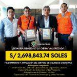 PARA COMBATIR LA INSEGURIDAD ALCALDE GARCÍA PAGADOR GESTIONÓ S/ 2, 698,843.74 SOLES