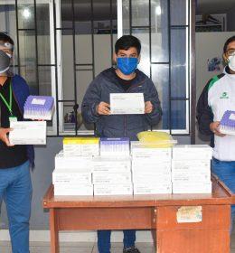 ALCALDE EDUARDO GARCÍA PAGADOR DESTINA 800 PRUEBAS RÁPIDAS AL CENTRO MÉDICO MUNICIPAL BELÉN