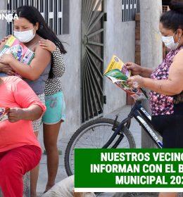 NUESTROS VECINOS SE INFORMAN CON EL BOLETIN MUNICIPAL 2020